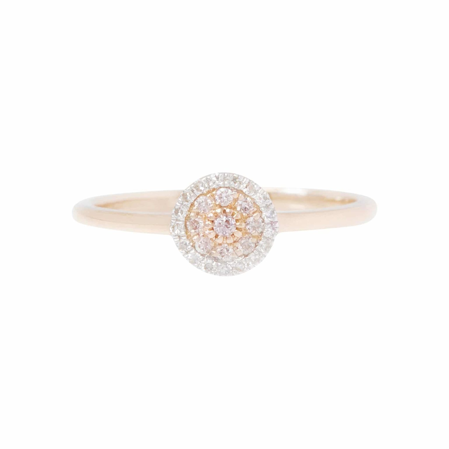 Eminence Pinks Diamond Disc Ring p5