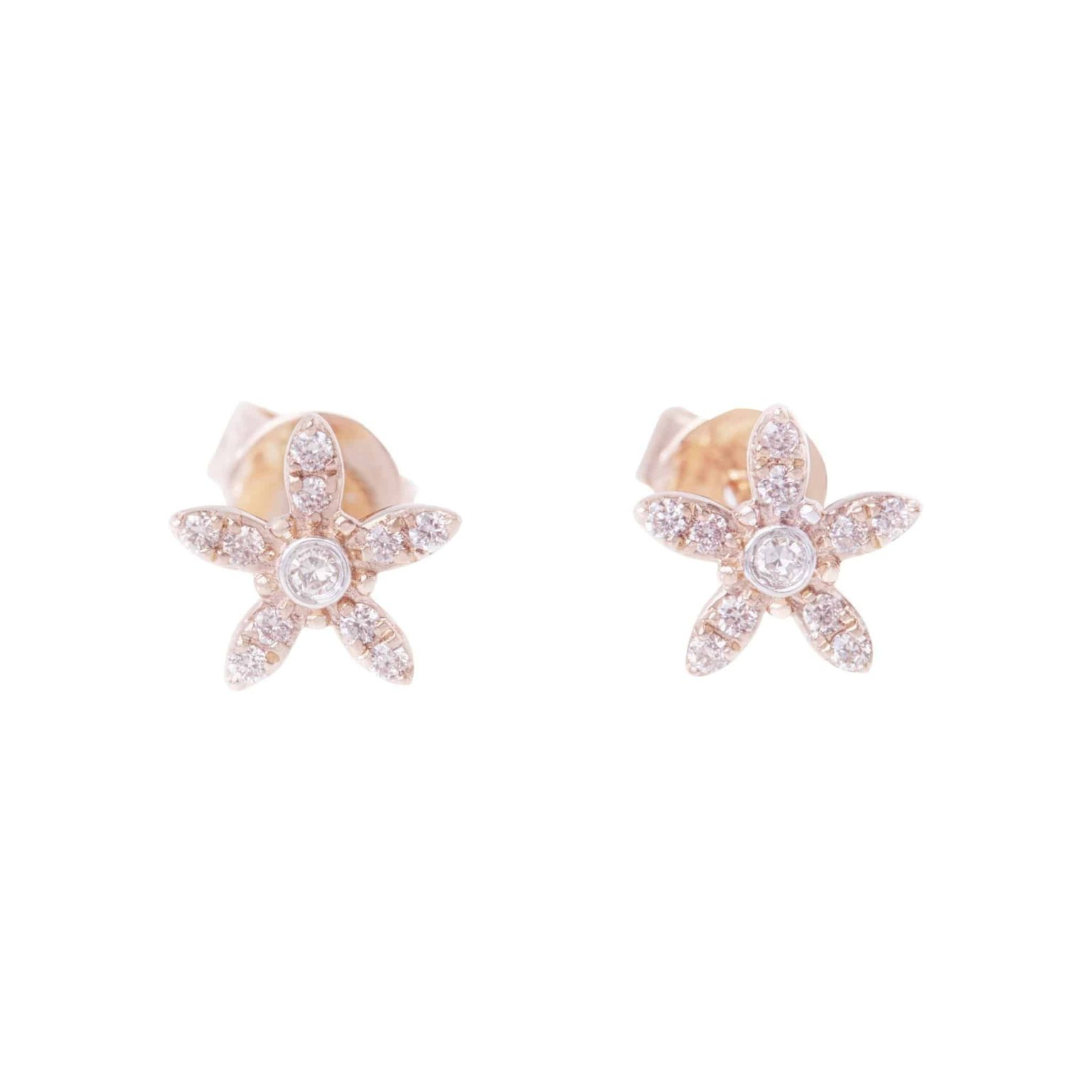 Eminence Pinks Diamond Star Earrings p3