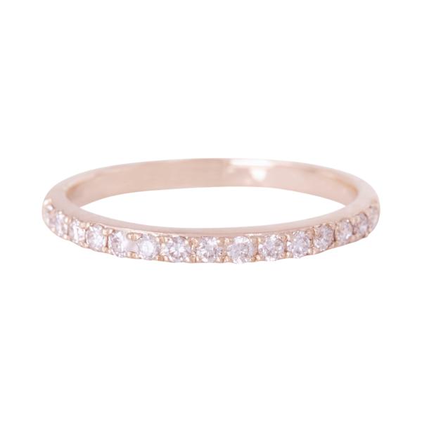 エミネンスピンクファンシーダイヤモンドリング